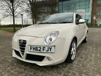 2012 Alfa Romeo MiTo 1.4 TB MULTIAIR DISTINCTIVE 3DR Hatchback Petrol Manual
