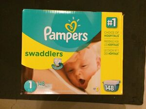 Size 1 Pampers- not opened