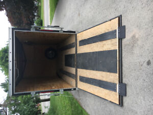 Utility/snowmobile/ATV Trailer