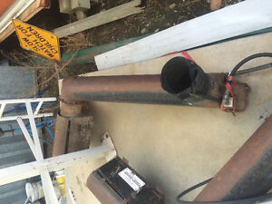 Hydrolic drive belly augers