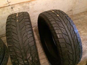 2x pneus hiver Cooper weather master wsc 235/65R18
