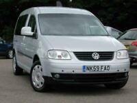 2010 Volkswagen Caddy Maxi CADDY MAXI LIFE TDI SEMI-AUTO Wheelchair Adapted Dies