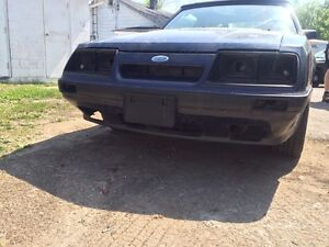 Parting out 86 gt mustang convertible