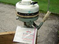 SOLD SOLD3 1/2hp Viking Outboard (for the handy person)SOLD