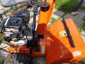 HUSQVARNA SNOWBLOWER 1 YEAR OLD BARELY USED