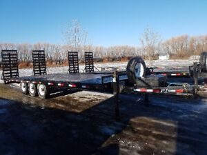 Two 24' Pj utility trailers Priced to sell