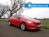 2012/62 VOLVO V40 1.6 D2 SE 5DR (START/STOP) RED + £0 RFL - CRUISE - PARK - BT +