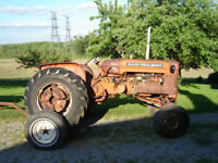 Parting out Allis Challmers D15