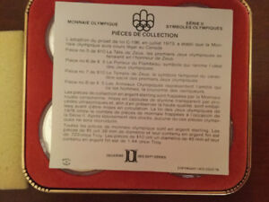 1976 Olympic coin set