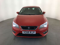 2015 65 SEAT LEON FR TECHNOLOGY TDI DIESEL 1 OWNER SERVICE HISTORY FINANCE PX
