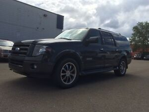 2007 Ford Expedition maxx 8 seater leather sunroof dvd $9999