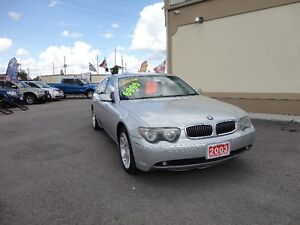 2003 BMW 7-Series 745Li Sedan E-TESTED & CERT