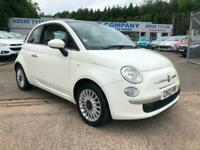 Fiat 500 1.2 ( 69bhp ) LOUNGE LOW MILEAGE FULL LEATHER INTERIOR CHEAP CAR