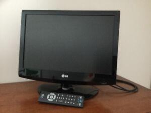 Télévision LG 19 po