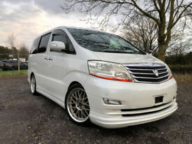 FRESH IMPORT 2005 FACE LIFT TOYOTA ALPHARD 2.4 PETROL AUTO POWER SLIDING DOORS