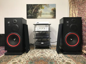 AWESOME CERWIN VEGA SPEAKERS  model VS-150 with 15 INCH drivers!