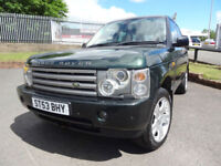 2003 Land Rover Range Rover 3.0 Td6 Auto HSE - 10 Service Stamps - KMT Cars