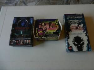 Non Sports Trading Cards Sealed Independence Day, Rock stars etc