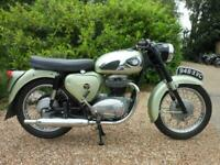 BSA A65 STAR TWIN, 1962, 58,495 MILES, IN VERY GOOD RESTORED CONDITION.