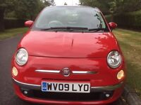 Fiat 500 lounge fully loaded 2009