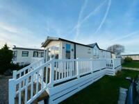 2 BED HOLIDAY HOME, DECKING & SITE FEES INCLUDED! BEACH LOCATION, RHYL