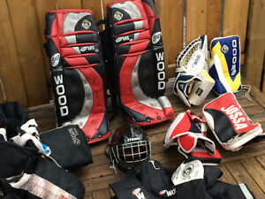 Goalie Gear - complete set except skates