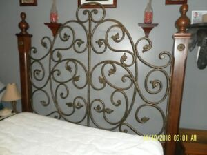 QUEEN BED AND DRESSER