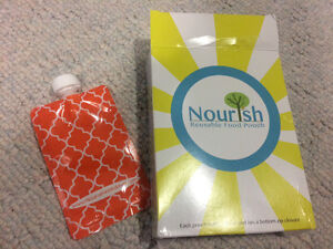 Brand new reusable pouches 10 for $20