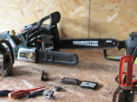 Chainsaw Sharpening and small engine service