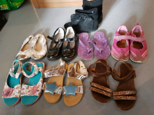 Girl shoes lot size12