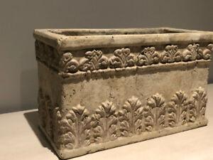 Versatile and decorative pot / planter / storage - does not chip