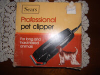 CLIPPERS FOR LONG OR SHORT HAIRED ANIMALS