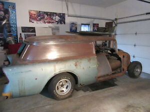 56 Chevy Nomad Delivery Sedan w/ original parts ready to restore