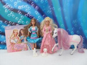 Barbie Mini Kingdom dolls ~ the Princess and the Pauper