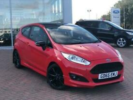 image for 2015 Ford Fiesta 1.0 Zetec S Red Edition 3dr 140PS Hatchback Petrol Manual