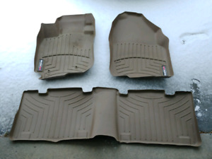 RAV4 Tan WeatherTech Floor Mats