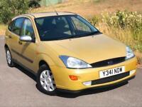 2001 Ford Focus 1.8i 16v 2000.5MY Ghia