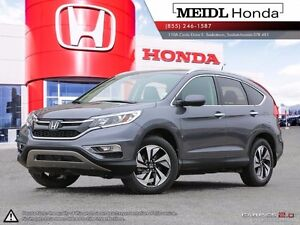 Honda CR-V Touring AWD PST Paid 2016