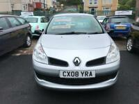 2008 08 Renault Clio 1.2 16v 75bhp Extreme Petrol 5 Speed Manual Low Insurance!