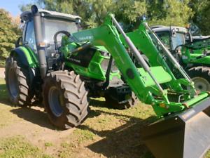 Deutz-Fahr 6155G tractor and loader