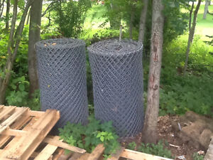 Commercial corrugated fencing