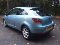 2010 seat Ibiza SE sportcoupe 1.4 bargain (not Leon, Volkswagen polo, golf)