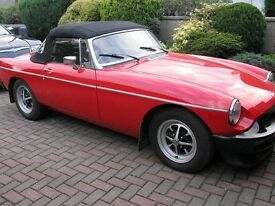 MGB Roadster 1980, Concours Condition, 70 miles,Professional Build (Better than New).
