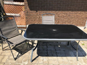 Patio Set (5 piece) like new