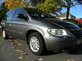 CHRYSLER VOYAGER 2.8CRD DIESEL AUTO 7 SEATER COMPLETE WITH M.O.T HPI CLEAR