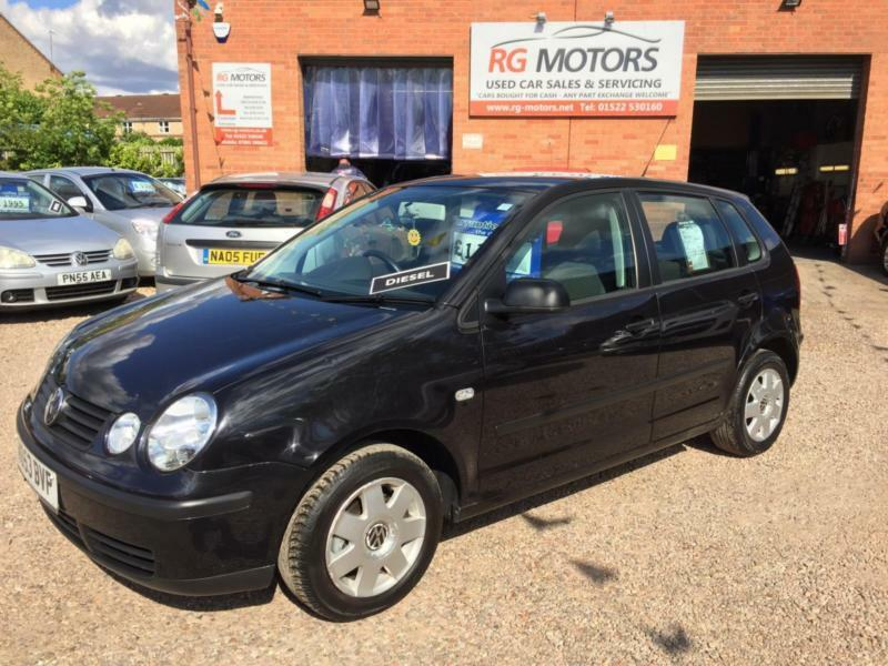 2004 volkswagen polo 1 9 sdi 64bhp twist black 5dr hatch deposit taken in lincoln. Black Bedroom Furniture Sets. Home Design Ideas