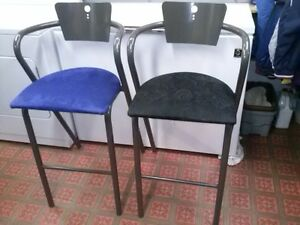 2 AMISCO BIG MAN'S BAR, KITCHEN STOOLS, STURDY AND MADE TO LAST