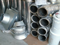 insulated chimney pipes for wood stoves and fireplaces