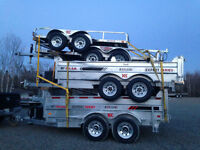 2016 Galvanized Dumps, DKO, Car Haulers