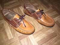 ECHO Mens Boat Shoes size 10(43) used but still in good condition collection millbrook